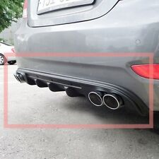 S-10 Rear DIFFUSER Tuning Dual Type For 2011 - 2014 Hyundai Accent i25 Solaris