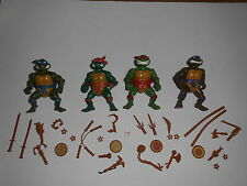 Storage Shell Turtles Komplett Complete Set Raph Mike Leo Don TMNT 1991 1990