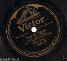 Alice Green on 78 rpm Victor 17954: Kiss Me Again/Rackety Coo