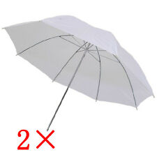 "2 × 43"" Photography Light Photo Video Studio Soft Umbrella Translucent White"