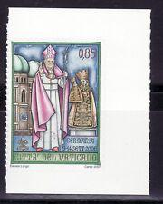 VATICANO 2007 1450 Viajes Papa por el Mundo de carnet adhesivo