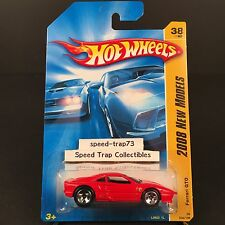 Hot Wheels Ferrari 288 GTO 2008 New Models #038 Red 1:64