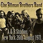 The Allman Brothers Band - A&R Studios, New York, 26th August 1971 CD NEW SEALED
