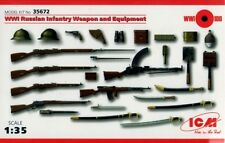 Ww i russian infantry weapon and equipment 1/35 icm neuf