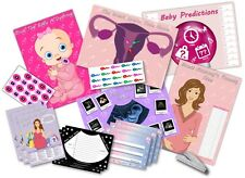 Baby Shower Party Games - 6 GAMES -  PINK/GIRL  -  up to 20 players