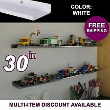 """30"""" ultraLEDGE White LEGO Display"""