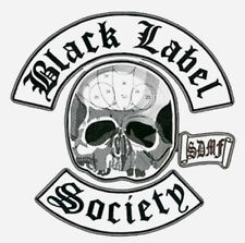 HEAVY METAL BAND BLACK LABEL SOCIETY BLS PATCH SET for BACK of BLS VEST