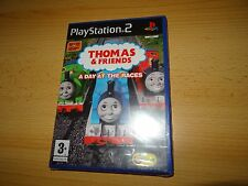 Thomas & Friends A Day At The Races + EyeToy Camera PS2  New & Sealed