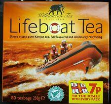 Williamson Lifeboat Tea 80 Tea bags  Elephant