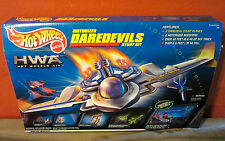 Hot Wheels Air Motorized Daredevils Stunt Plane Set 1999 Mattel NEW
