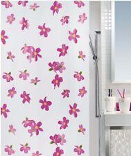 Bessy Pink  Eco Duschvorhang 180 x 200 cm. Rosa 100% PEVA Schweizer Markenware