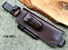 TITANs Premium Handmade Leather Sheath XL 30 cm Bushcrafts Camping Knives 5BL