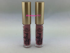 Lot of 2: Too Faced Mini Melted Matte Liquified Long Wear Lipstick in  Queen B