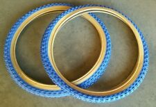 20x2.125 blue gum wall bmx duro tires, for old school bike