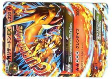 POKEMON JAPANESE HOLO N° 002/021 MEGA CHARIZARD EX DRACAUFEU 220 HP Attack 300