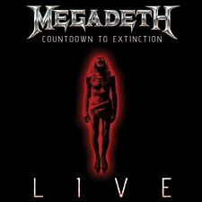 Megadeth Countdown To Extinction Live CD NEW SEALED 2013 Metal