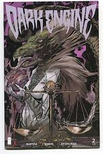 DARK ENGINE #2 - RYAN BURTON SCRIPTS - IMAGE COMICS - 2014