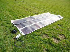 6KW, 4 x 100W, 400W Solar Battery Charging Kit 12V camper Flexible roll up kit