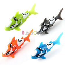 Pet Robo Fish Water Activated Shark Electric Clown Fish Kids Children Toy Gift