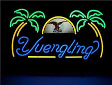 "New Yuengling Eagle Lager Palm Tree Beer Bar Neon Light Sign 17""x14"" Fast Ship"