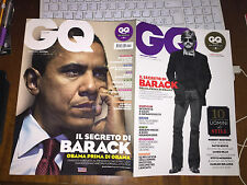 GQ  BARACK OBAMA SLASH DAVID BOWIE BASQUIAT MIRANDA KERR R. REDFORD VETTEL