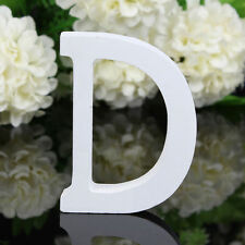 """D"" Wooden Freestanding Letters Love Alphabet Wedding Party Home Shop Decoration"