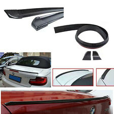 1.5M Carbon Fiber Universal Trunk Boot Spoiler Lip Wing