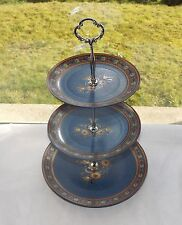 Winterling Schwarzenbach Bavaria West Germany Three Tier Cake Stand