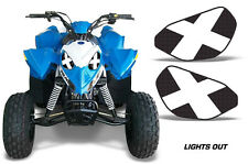 AMR Racing Head Light Eyes Polaris Outlaw 90 ATV Headlight Decals Part LIGHTSOUT