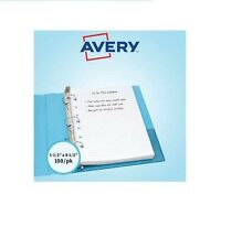 Avery Mini Binder Filler Paper 7 HP College Rule White 100 Sheets AVE14230 - New