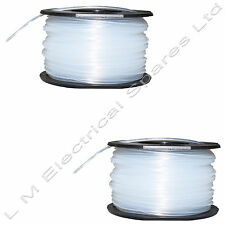 2 x Strimmer Spool & Line For Black & Decker GL280 GLC13 GLC2500 GLC3000