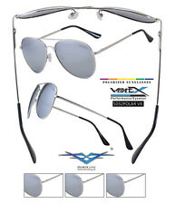(1) POLARIZED SPRING LOADED AVIATORS HAVE RUBBER NOSE PIECE WITH MIRROR  5032