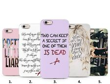 Pretty little liars PLL Tv series teen Phone case cover for Iphone HTC Samsung
