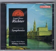 F.X.RICHTER SYMPHONIES CD NEW LONDON MOZART PLAYERS BAMERT