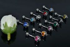 Lot50pcs Navel Rings Belly Bars with Circel/Hook Navel Button Barbells For DIY