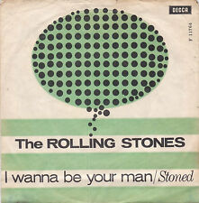 The Rolling Stones - I Wanna Be Your Man / Stoned -Dänemark/England 1963