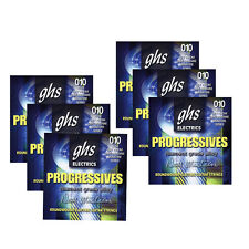 6-Pack GHS PRDM Progressives Dave Mustaine Thin Thick Guitar Strings 10-52