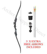 ASD Youth Kids Archery Recurve Bow Pack Set 20Lbs W/ 8 Arrows,Armguard & Quiver
