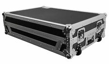 Pro X XS-NS7IIIW Travel Flight Case w/ Wheels For Numark NS7III / NS7 III I