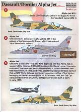 Print Scale Decals 1/72 DORNIER DASSAULT ALPHA JET Part 1