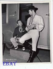 Director Phil Karlson Anthony Dexter VINTAGE Photo The Brigand candid on set