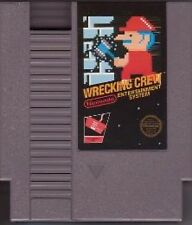 WRECKING CREW CLASSIC SYSTEM NINTENDO GAME ORIGINAL NES HQ