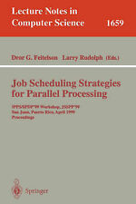 Job Scheduling Strategies for Parallel Processing: IPPS '95 Workshop, Santa Barb