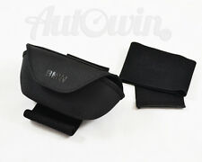 BMW GENUINE IN CAR GLASSES CASE WITH MOUNTING STRAPS ORIGINAL OEM