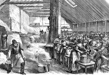 The spitalfields soup kitchen East London in 1867  Poster Print
