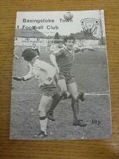 09/12/1978 Basingstoke Town v Gosport Borough  . Item appears to be in good cond