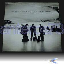 "U2 ""ALL THAT YOU CAN'T LEAVE BEHIND"" RARE LP + BOOK - MINT"