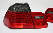 LED RÜCKLEUCHTEN RÜCKLICHTER SET BMW E46 3er M3 LIMOUSINE -01 ROT SCHWARZ SMOKE