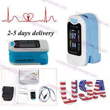 USA!!Contec OLED Finger Pulse Oximeter Fingertip Oxygen Monitor SPO2 PR,CMS50N