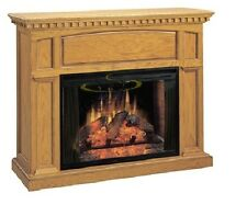 "Classic Flames 33"" Electric Fireplace with Georgetown Oak Cabinet - Free ship"